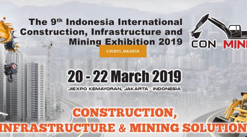 Con-Mine 20 – 22 Maret 2019