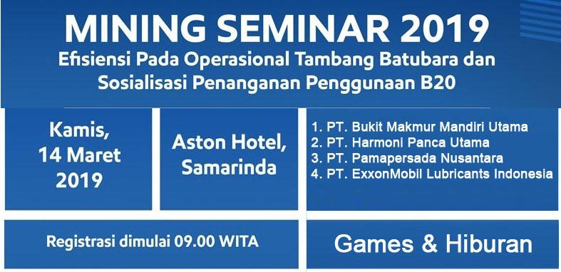 Mining Seminar 2019